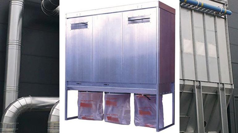 Kapalı Cephe Yüzeyli Mekanik Silkelemeyle Temizlenen Filtre