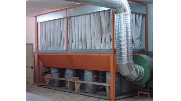 Açık Cephe Yüzeyli Mekanik Silkelemeyle Temizlenen Filtre